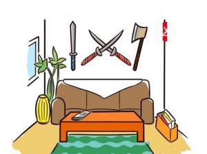 Những kiêng kị phòng khách ai cũng nên biết