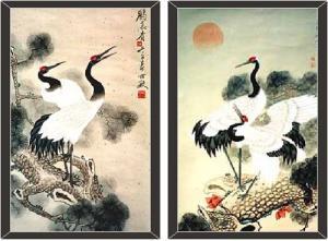 Chim hạc: Biểu tượng của sự trường thọ trong phong thủy