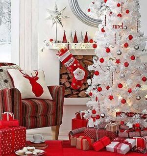 Giáng Sinh đỏ đẹp lung linh cho người mệnh Hỏa