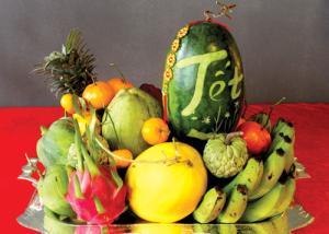 Phân biệt những loại quả RƯỚC LỘC và TÁN LỘC trên ban thờ ngày Tết