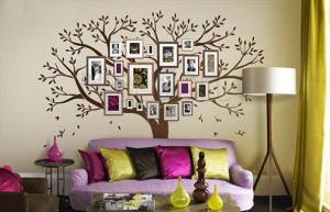 Sắp xếp tranh ảnh và vật dụng phòng khách theo phong thủy