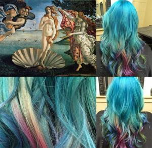 """Ngắm những mẫu tóc """"nổi bần bật"""" lấy cảm hứng từ tranh"""