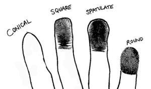 Đầu ngón tay vuông hay tròn thì tốt?