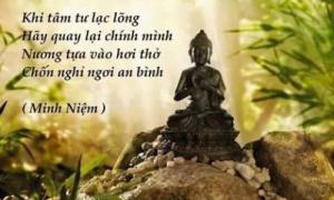 """Muốn lòng bình an phải """"khắc cốt ghi tâm"""" lời Phật dạy"""