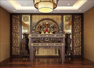 Lưu ý khi bày Phật đường tại gia nên biết để thờ Phật ở nhà đúng chuẩn