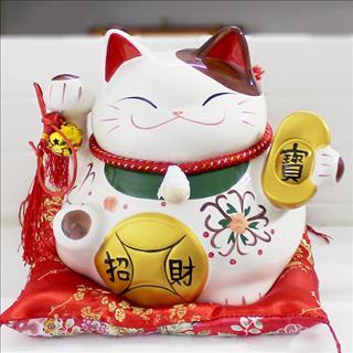 Bày mèo Thần Tài ở đâu trong cửa hàng để phát tài phát lộc