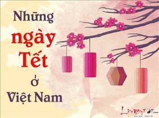 Infographic: Đố bạn biết một năm có bao nhiêu ngày lễ tết ở Việt Nam