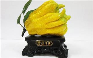 Tết đến xuân sang, bày quả Phật thủ mời gọi Phúc - Lộc - Thọ tới nhà