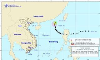 Tin thời tiết: Bão số 7 suy yếu thành áp thấp nhiệt đới, không ảnh hưởng đến đất liền, ven biển Việt Nam