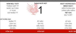Lịch âm 2018 bị sai? Tết Việt Nam liệu có sớm hơn 1 ngày?
