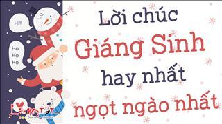 Lời chúc Giáng Sinh hay nhất, ngọt ngào và ấm ấp nhất
