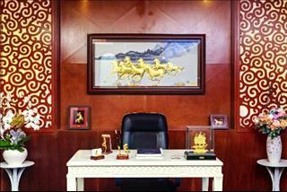 Treo tranh phong thủy ở văn phòng: Đúng nơi đúng chỗ mới vượng công danh