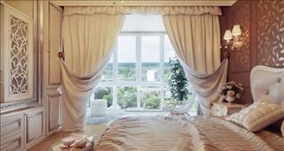 Hầu hết mọi người chọn rèm phòng ngủ sai phong thủy, đừng trách tình duyên lận đận