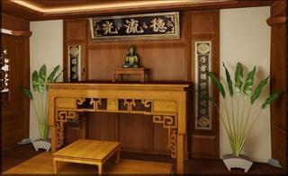 Sử dụng gỗ này làm bàn thờ, thần linh gia tiên sẽ luôn phù hộ độ trì