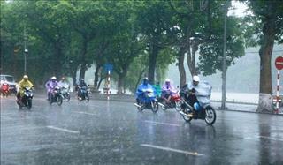 Dự báo thời tiết hôm nay 14/9: Hà Nội mưa dông