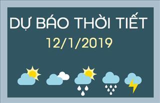 Dự báo thời tiết 12/1: Nam Bộ tiếp tục nắng nóng