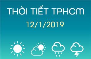 Dự báo thời tiết TPHCM 12/1: Ngày nắng, nhiệt độ khá cao