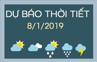 Dự báo thời tiết 8/1: Tây Bắc Bộ mưa to, bước vào đợt rét mới