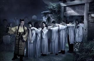 Rợn người với tập tục CẢN THI của Trung Quốc: Dẫn đường cho xác chết trở về quê hương