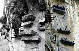 Giải mã bí ẩn tập tục HUYỀN TÁNG – treo quan tài trên vách đá thời cổ xưa