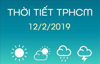 Dự báo thời tiết TPHCM 12/2: Ngày nắng, đêm không mưa