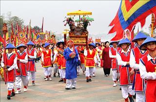 Các nghi lễ chính thức trong ngày giỗ tổ Hùng Vương