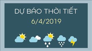 Dự báo thời tiết 6/4: Miền Bắc dông rải rác, Miền Nam dông vài nơi, ngày nắng