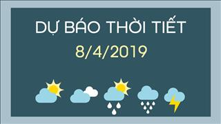 Dự báo thời tiết 8/4: Cả nước trời tạnh ráo, nhiều nơi xuất hiện nắng nóng