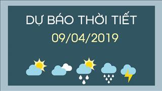 Dự báo thời tiết 9/4: Cả nước nắng nóng, có nơi 37 độ