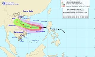 Ứng phó bão số 13: Đà Nẵng khuyến cáo người dân không ra khỏi nhà từ 12h trưa mai