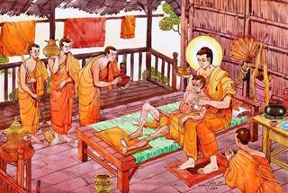 Thấy học trò xa lánh người bệnh, Đức Phật nói điều này khiến ai cũng phải giật mình
