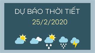 Dự báo thời tiết 25/2: TPHCM nắng nóng, cập nhật mới nhất dịch COVID-19