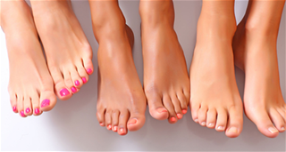 Nhìn ngón chân dài ngắn đoán vận mệnh tương lai