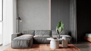 Độc đáo ý tưởng thiết kế căn hộ nhỏ chỉ 45m2 cực sang trọng và tinh tế