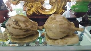 Đu đủ đá phong thủy: Vật phẩm chiêu tài cầu lộc không thể thiếu