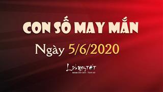 Con số may mắn ngày 5/6/2020 - Số đẹp trong ngày hôm nay