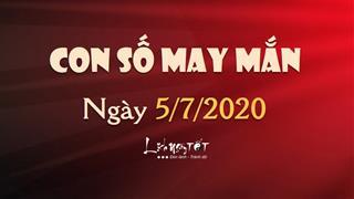 Con số may mắn ngày 5/7/2020 theo tuổi: Số đẹp hôm nay cho bạn
