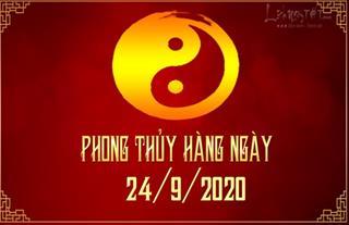 Xem phong thủy hàng ngày Thứ 5 ngày 24/9/2020: Cửu Tử gặp may mắn