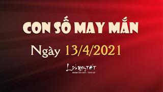 Con số may mắn hôm nay 13/4/2021 theo tuổi của bạn: Đầy đủ 60 tuổi hoa giáp