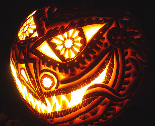 Don le hoi Halloween voi nhung mau bi ngo ma cuc dep hinh anh goc