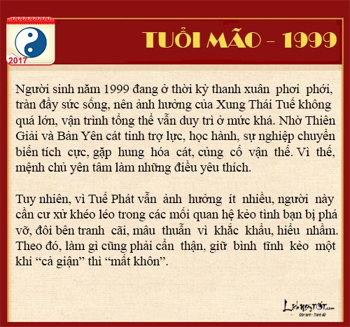 Tu vi tai loc nam 2017 cua nguoi tuoi Mao - tu vi tuoi Mao hinh anh goc 8