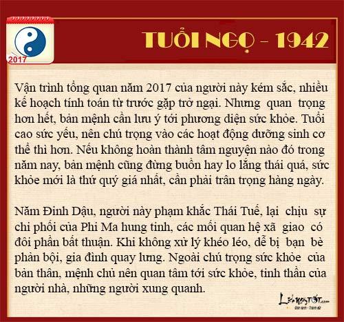 Tu vi tai loc nam 2017 cua nguoi tuoi Ngo nam Dinh Dau hinh anh goc 3
