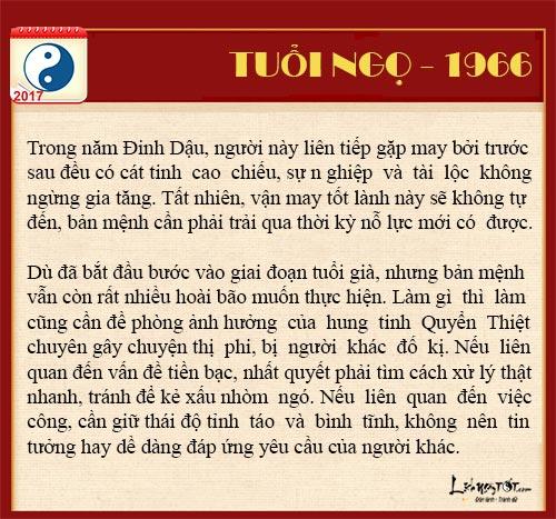 Tu vi tai loc nam 2017 cua nguoi tuoi Ngo nam Dinh Dau hinh anh goc 5