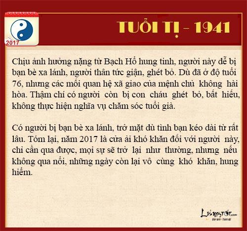Tu vi tai loc nam 2017 cua nguoi tuoi Ti nam Dinh Dau hinh anh goc 3