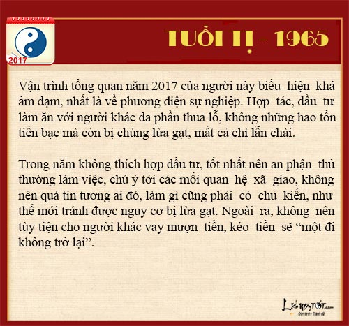 Tu vi tai loc nam 2017 cua nguoi tuoi Ti nam Dinh Dau hinh anh goc 5