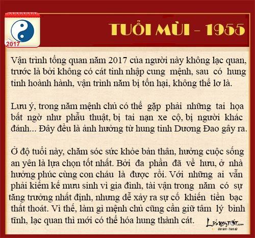 Tuoi Mui 2017 Tu vi tai loc nam 2017 cua nguoi tuoi Mui hinh anh goc 4