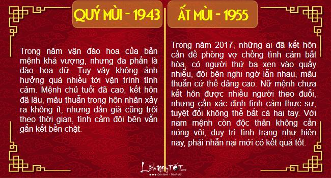 Xem tinh duyen nam 2017 cua nguoi tuoi Mui chi tiet hinh anh goc
