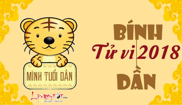 Tu vi 2018 Binh Dan tong quan tu vi