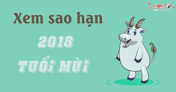 Xem sao han nam 2018 cho nguoi tuoi Mui chuan xac
