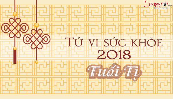 Tu vi tuoi Ti 2018 van trinh suc khoe